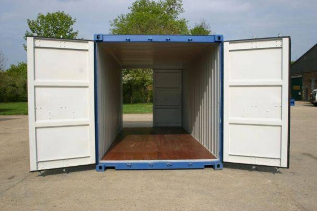 container dobbeltdoors