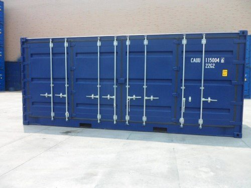 20 fods container open side
